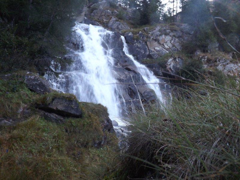 cascate di Saent ti amo trentino