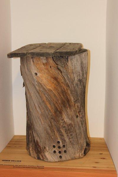 antica arnia mmape museo dell'ape ti amo trentino