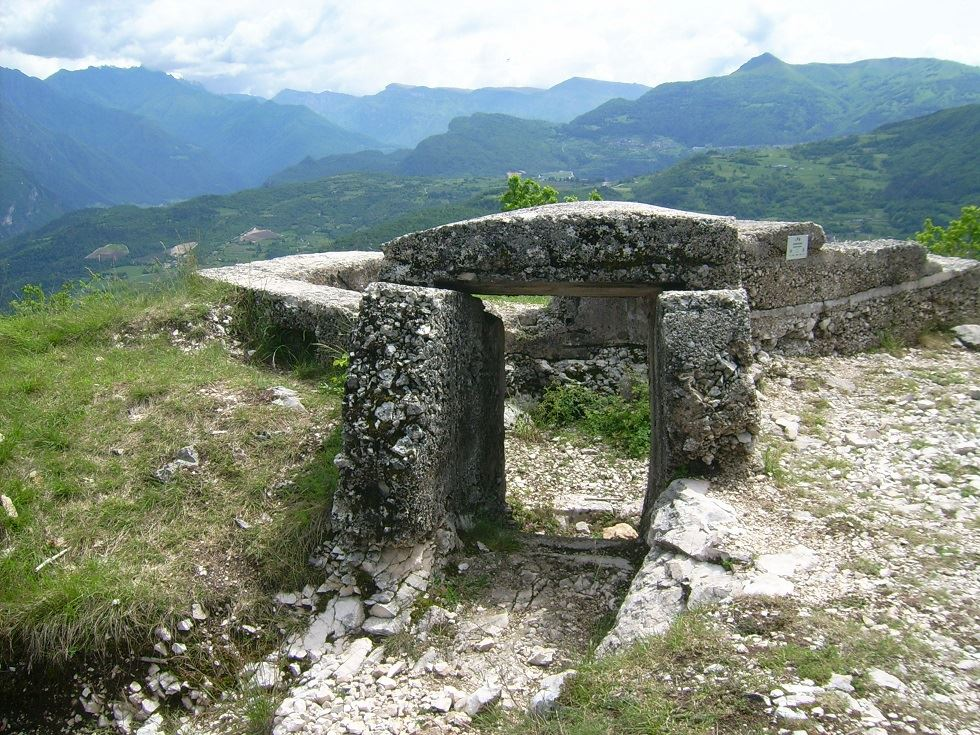 monumenti storici della grande guerra sul percorso della cammina grestana