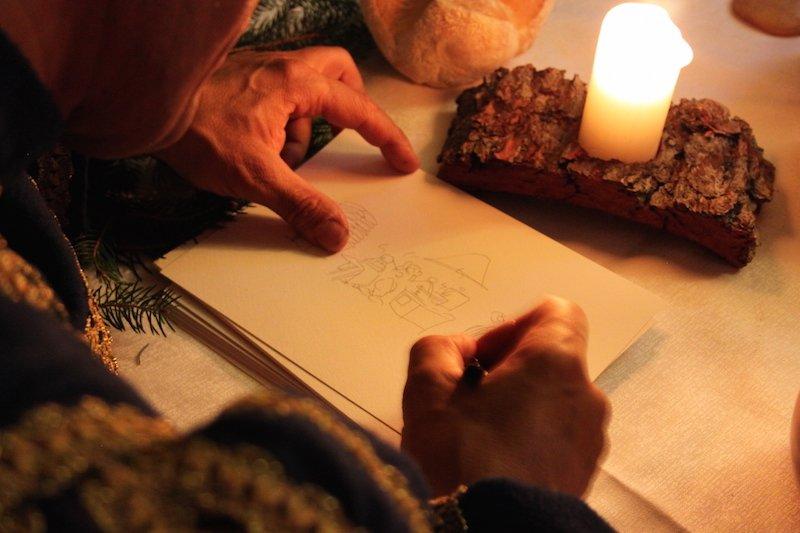Fabio Vettori disegna per TiAmoTrentino le storiche formichine