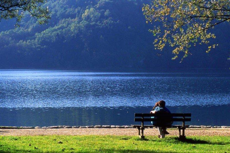 lago di levico in estate levico terme