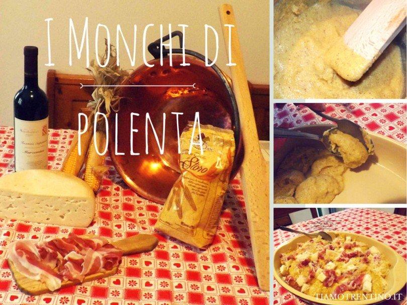ricetta trentina I Monchi di polenta