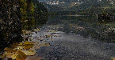 Lago di Tovel ti amo trentino