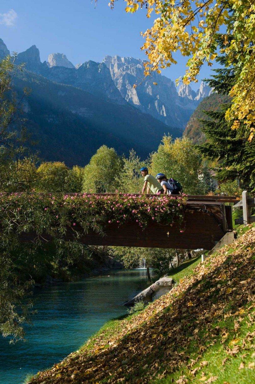 dolomiti di brenta bike percorso in mountainbike