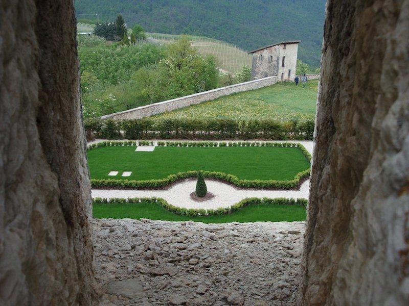 i gradini di castel thun