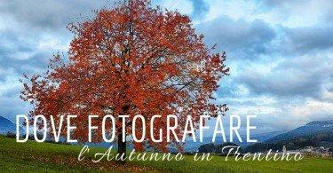 dove fotografare l'autunno